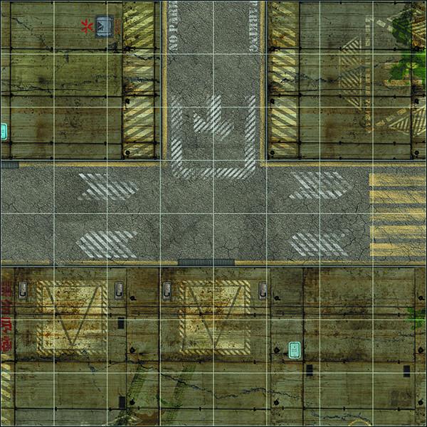 tapete deadzone 60x60