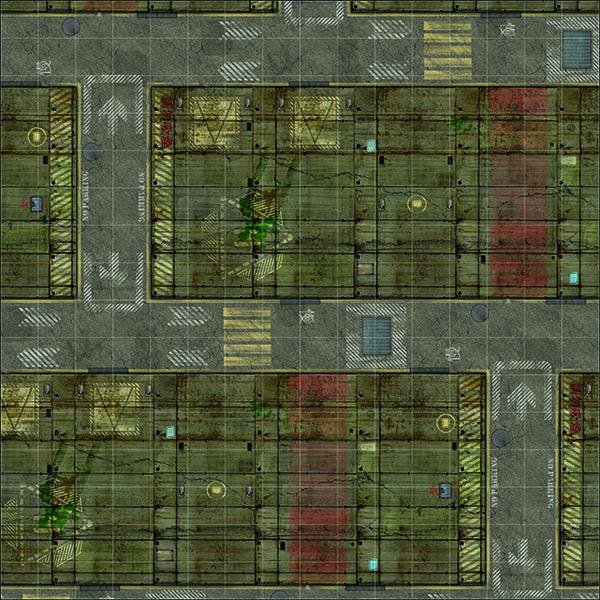 tapete deadzone 120x120